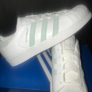 Adidas super star sneakers shoes